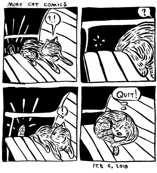 More Cat Comics