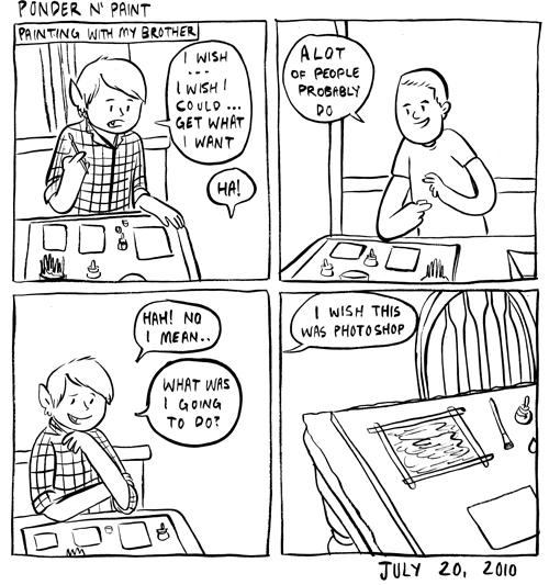 Ponder N' Paint