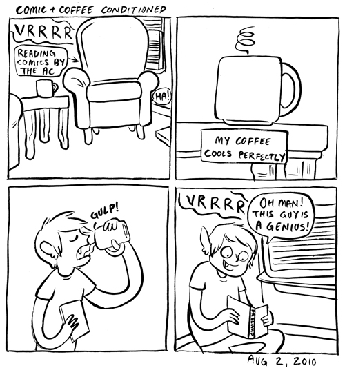 Comic + Coffee Conditioned