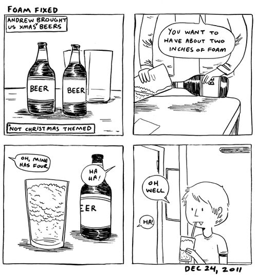 in which I confuse soda and beer