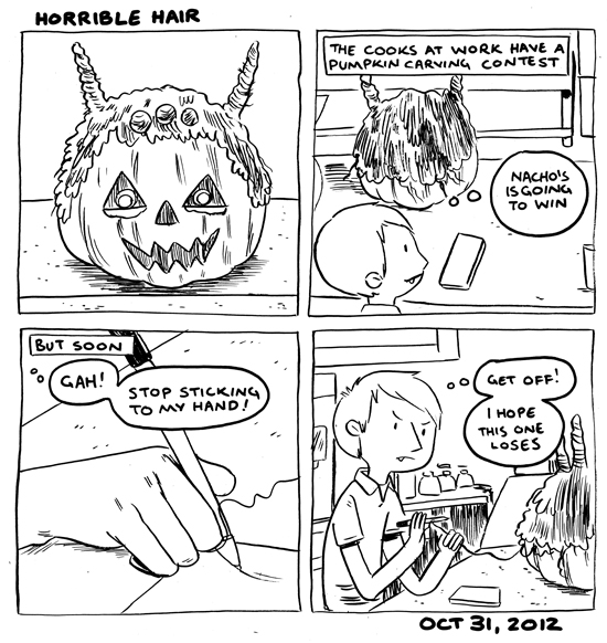 in which I am attacked by a jack-o-lantern