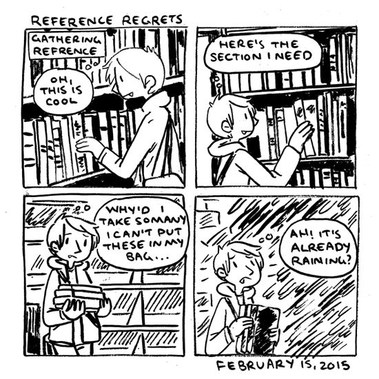 in which I bring the library to me