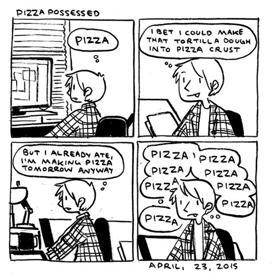 in which GIMME PIZZA