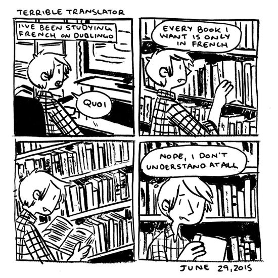 in which Je vais lire ce livre