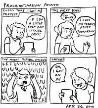 Procrastination Power