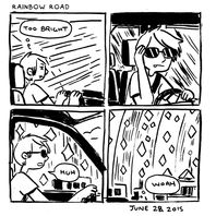 in which I'm mario kart IRL