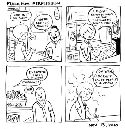 Pugilism Perplexsion
