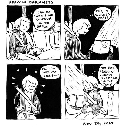 Draw In Dark