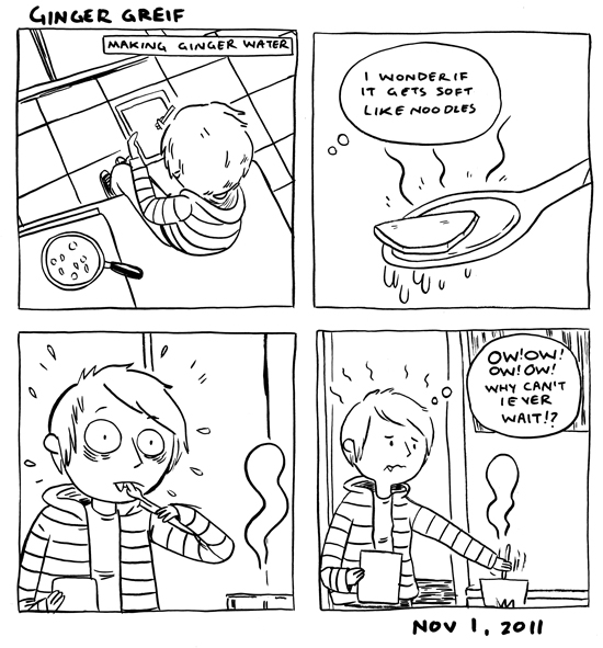 in which I continue to hurt myself whenever I cook