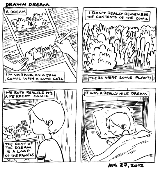in which I dream of the perfect comic