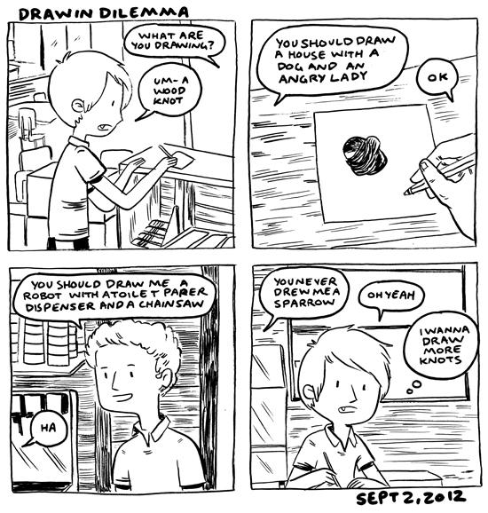 citric comics drawin dilemma