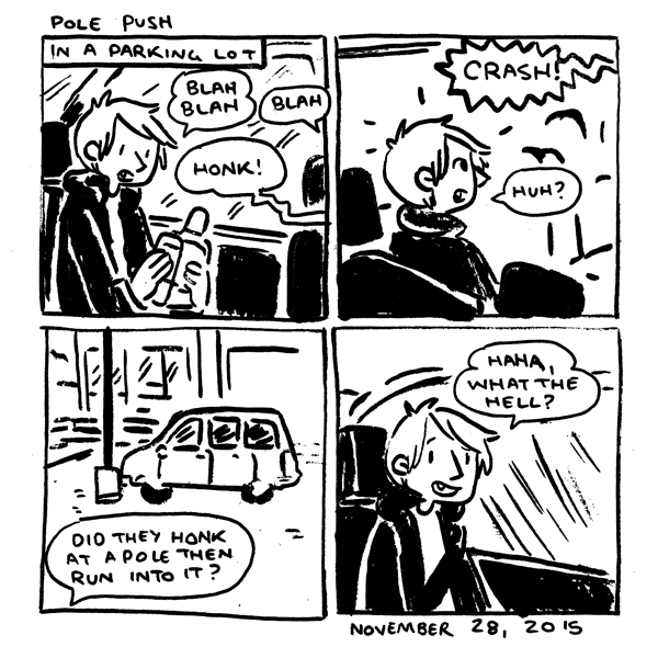 in which HONK! CRASH!