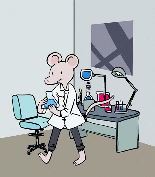 Scientist Mouse